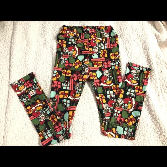 ace2941c0a820e LuLaRoe Bottoms | Lxl Leggings Fits Sizes 610 Girls | Poshmark